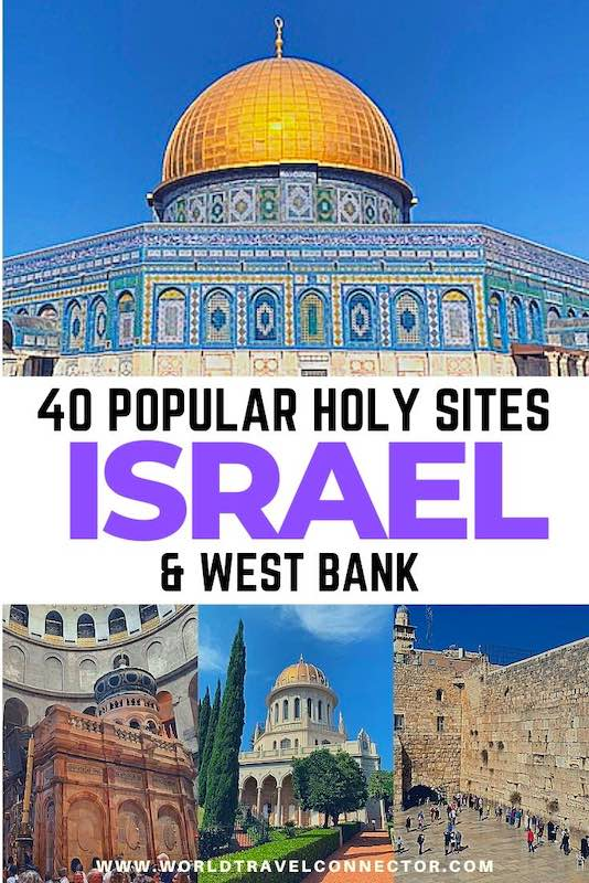 Must-See Holy Sites in Israel