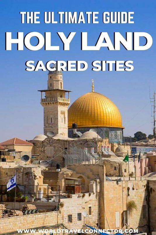 Famous holy sites in Israel