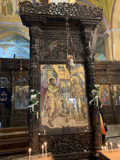 St Gabriel Church in Nazareth is one of the most popular holy sites in Israel