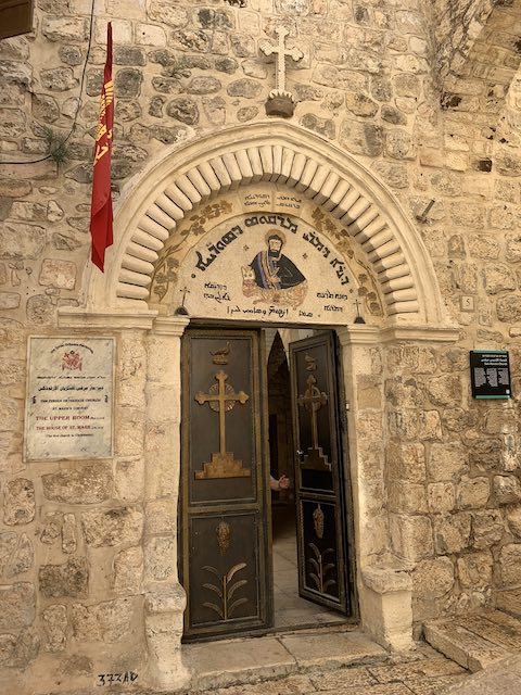 The Church of St Mark in Jerusalem is one of the most popular holy sites in Israel
