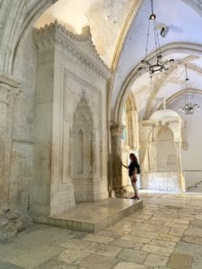 The Room of the Last Supper in Jerusalem