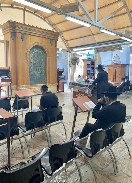 the Tombs of the Patriarchs in Hebron is one of the most popular holy sites in Israel and the West Bank