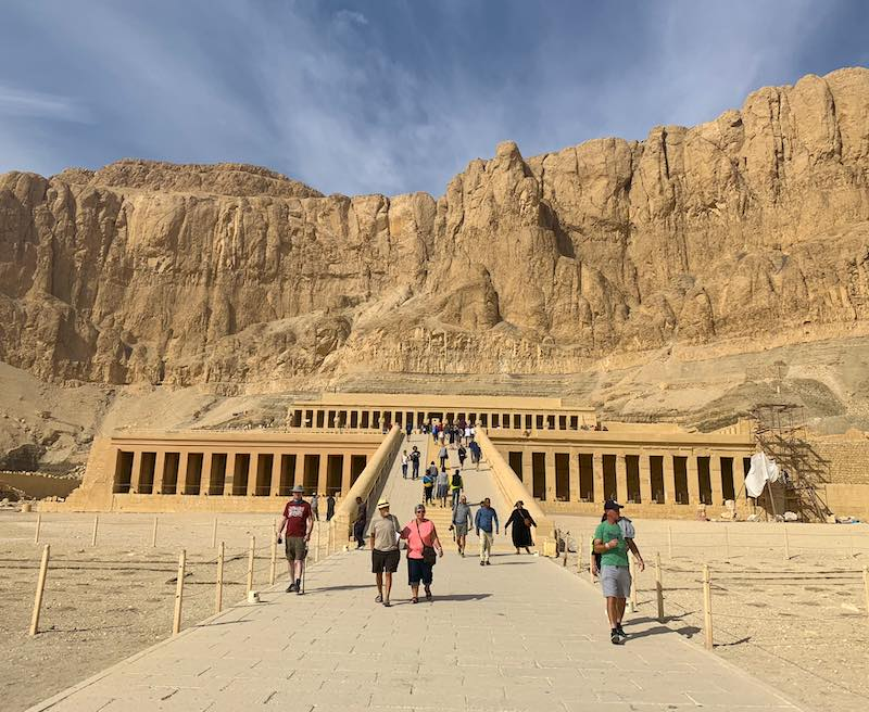 Mortuary Temple of Hatshepsut is one Egypt landmarks to see