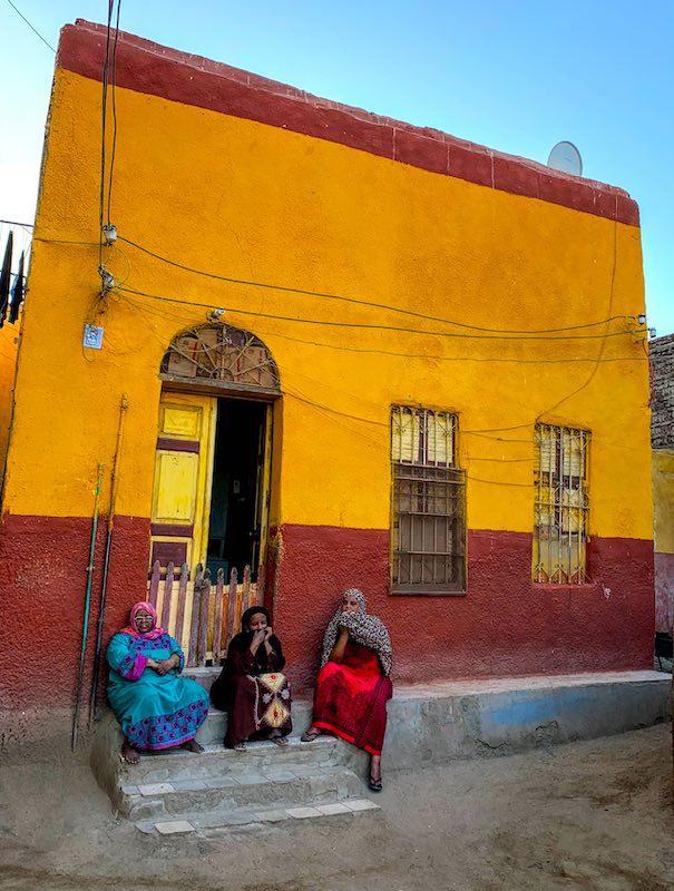 Nubian village is one of Egypt landmarks