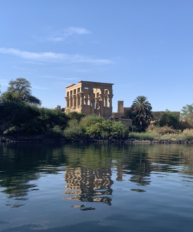 the Philae temple is one of famous Egypt landmarks