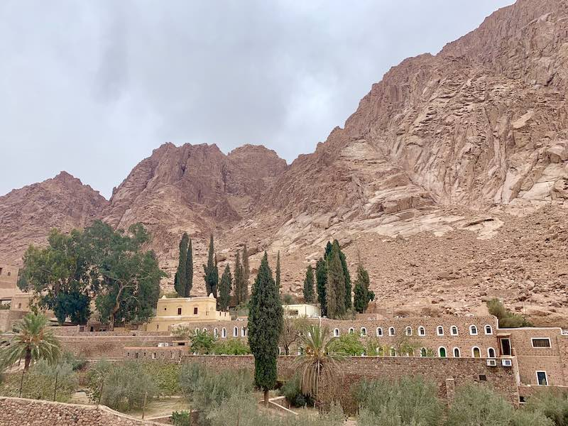 St Catherine Monastery in Sinai is one of the famous Egypt landmarks