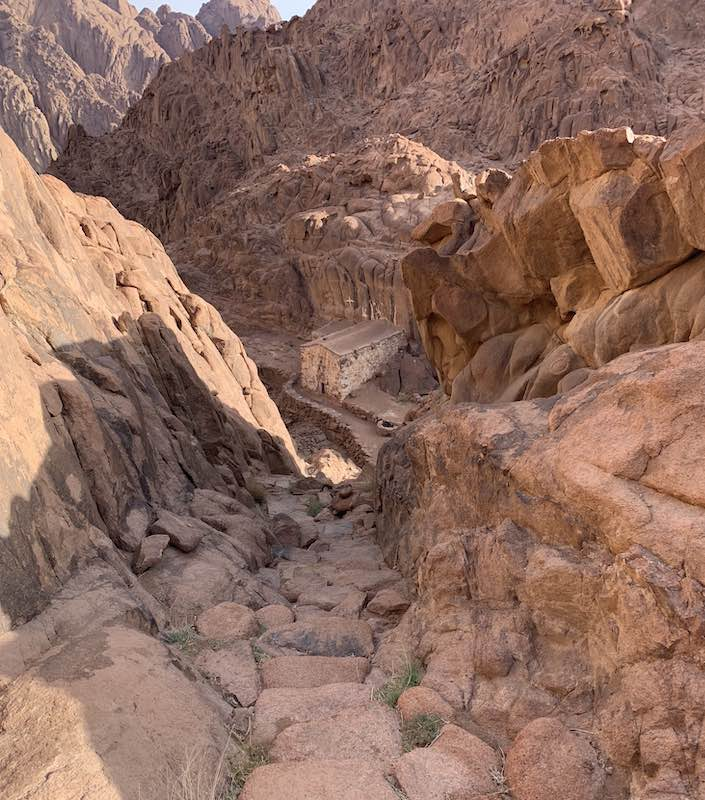 The Steps of Repentance in Sinai