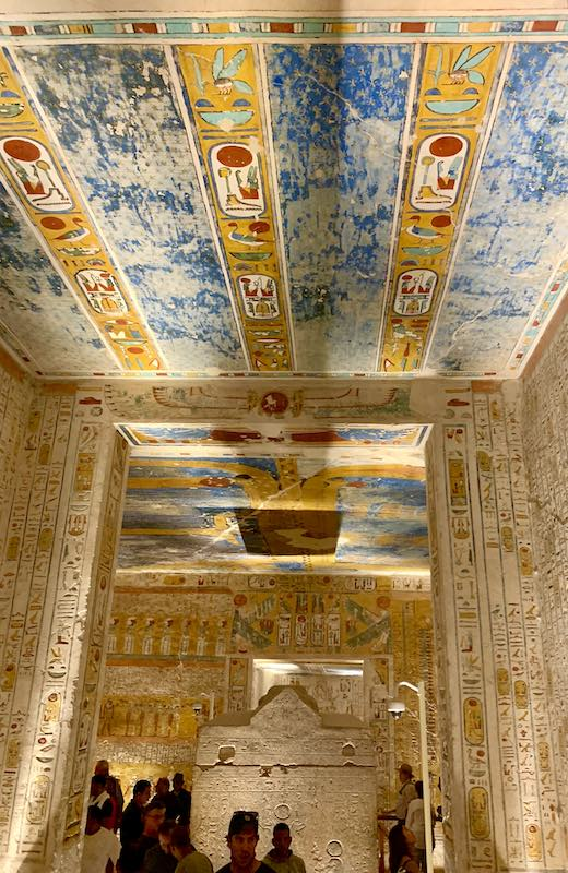 The Valley of the Kings is one of famous Egypt landmarks