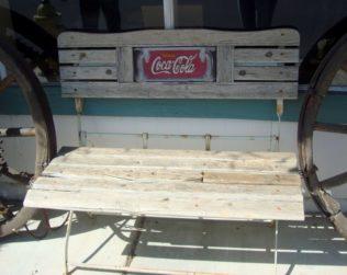 A bench in Santa Ynez