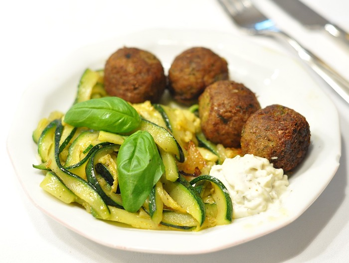 Falafel is a vegetarian Egyptian food