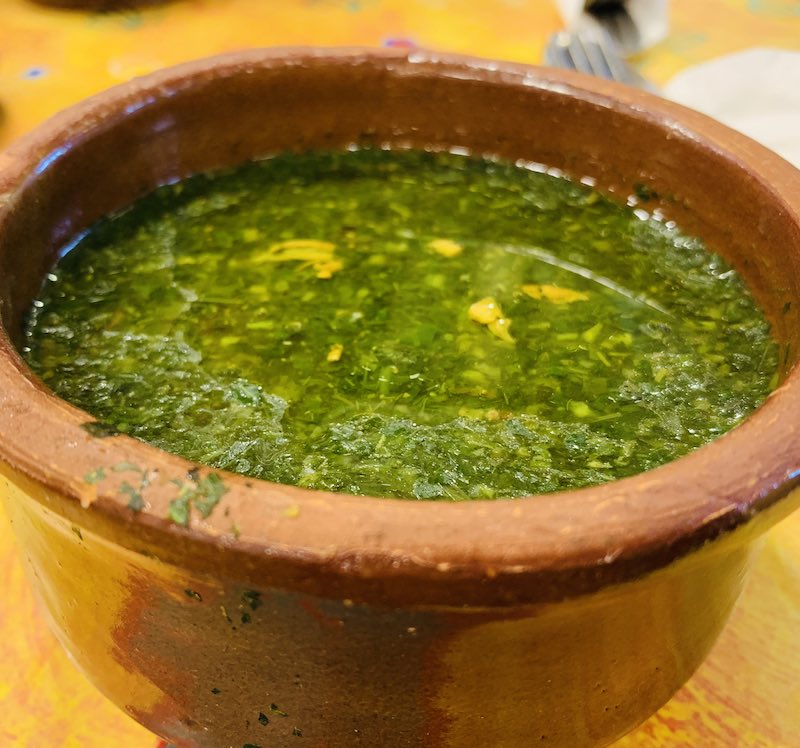 Molokhia is a Vegetarian Egyptian Food