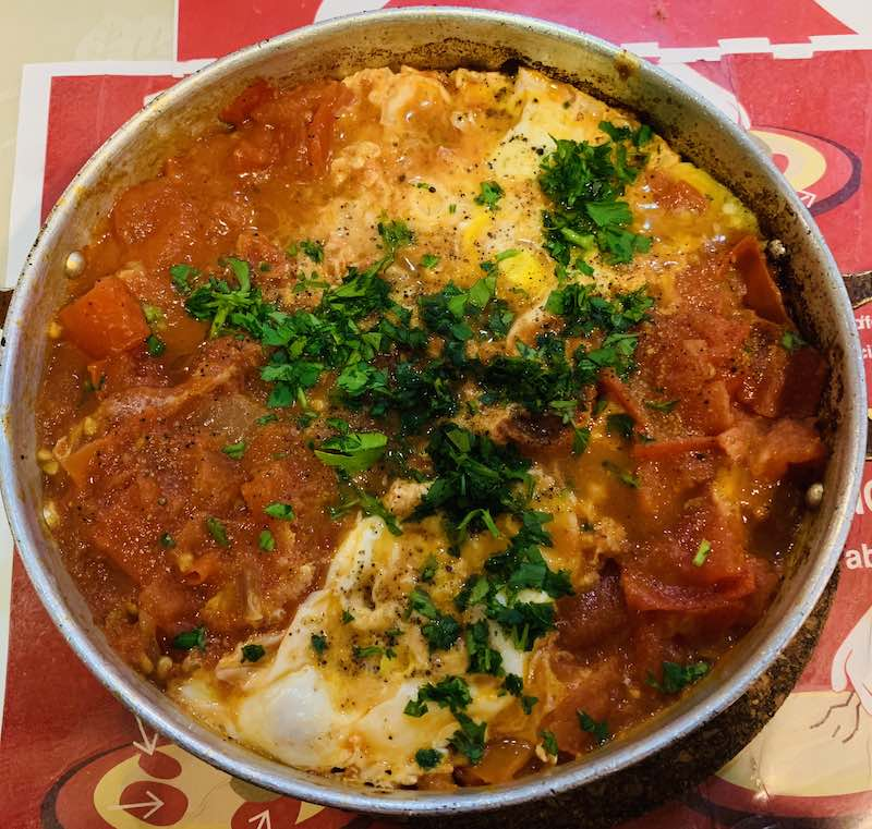 Egyptian Shakshuka is a Vegetarian Egyptian Food