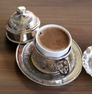 Quahwa is a must-try drink in Egypt