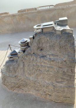 Masada maqueta
