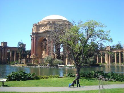 Palace of Fine Arts in San Franciso