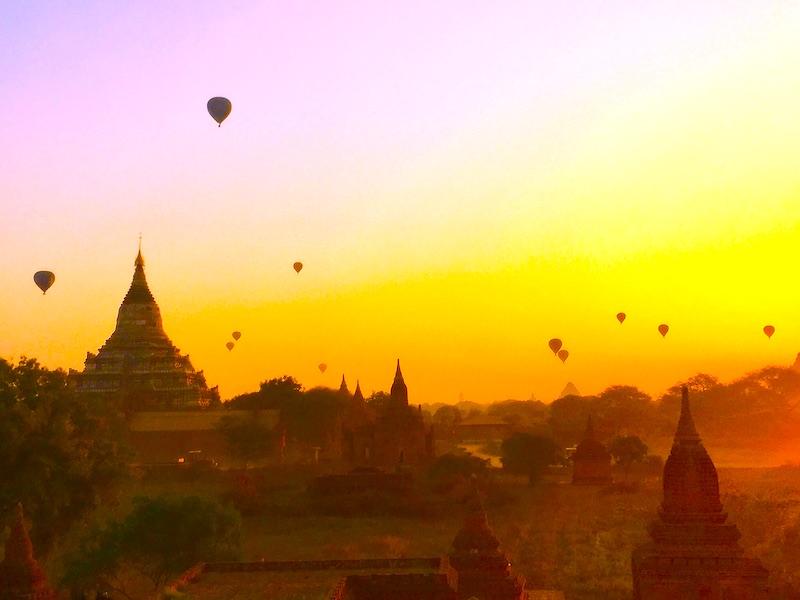 Bagan is one of top Myanmar destinations