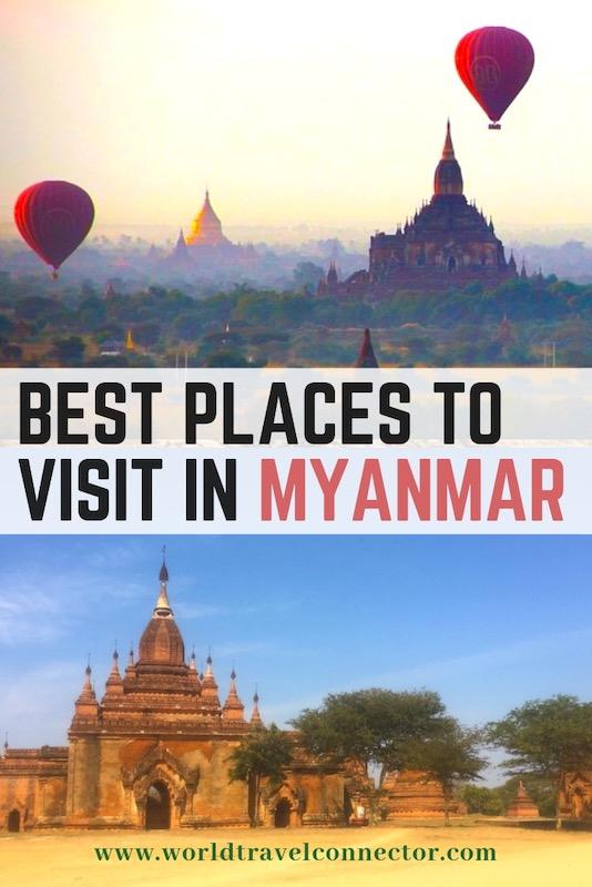 Top Myanmar destinations