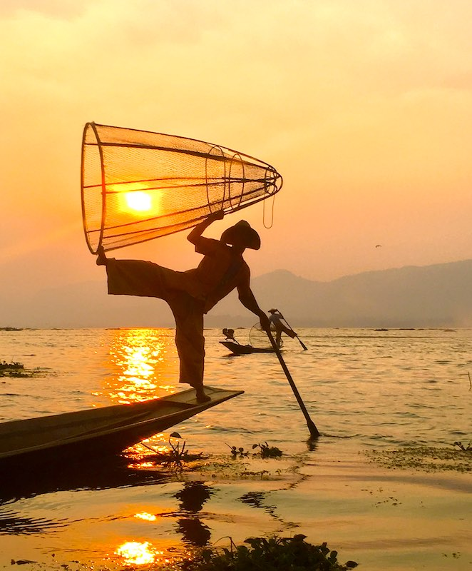 Inle lake is one of top destinations in Myanmar