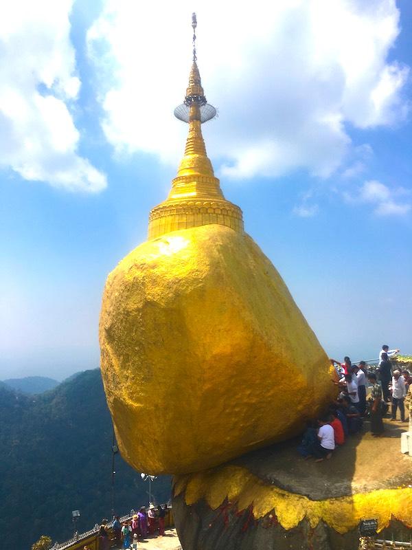 Kyaiktiyo Pagoda is one of top things to see in Myanmar and best Myanmar destinations