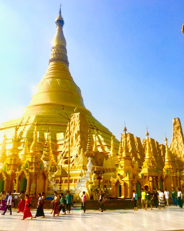 Rangoon is one of top Myanmar destinations to visit