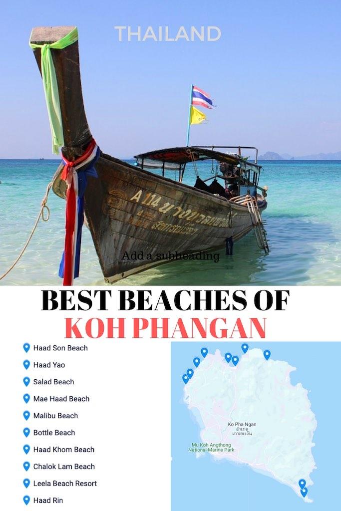 10 Best Beaches of Koh Phangan in Thailand