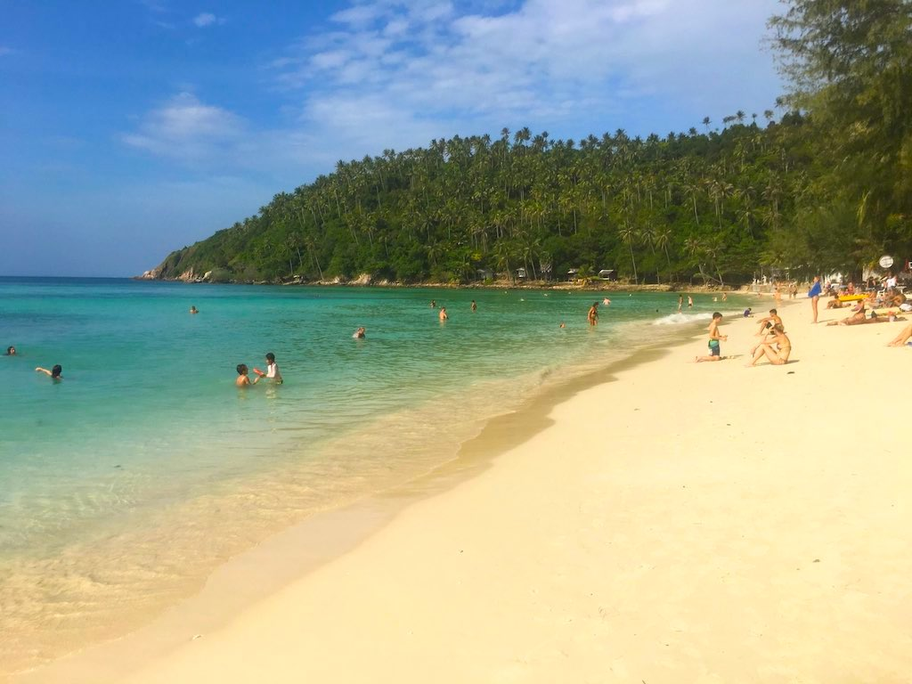 Haad Salad is one of the Best beaches of Koh Phangan
