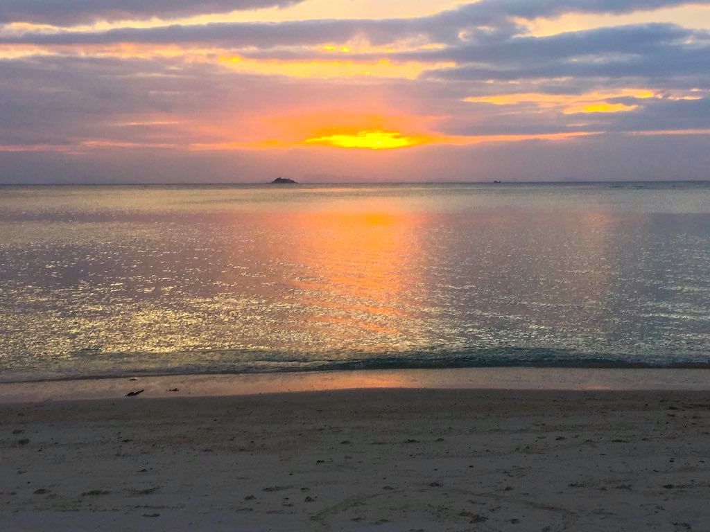 Beaches of Koh Phangan Sunset on Zen Beach