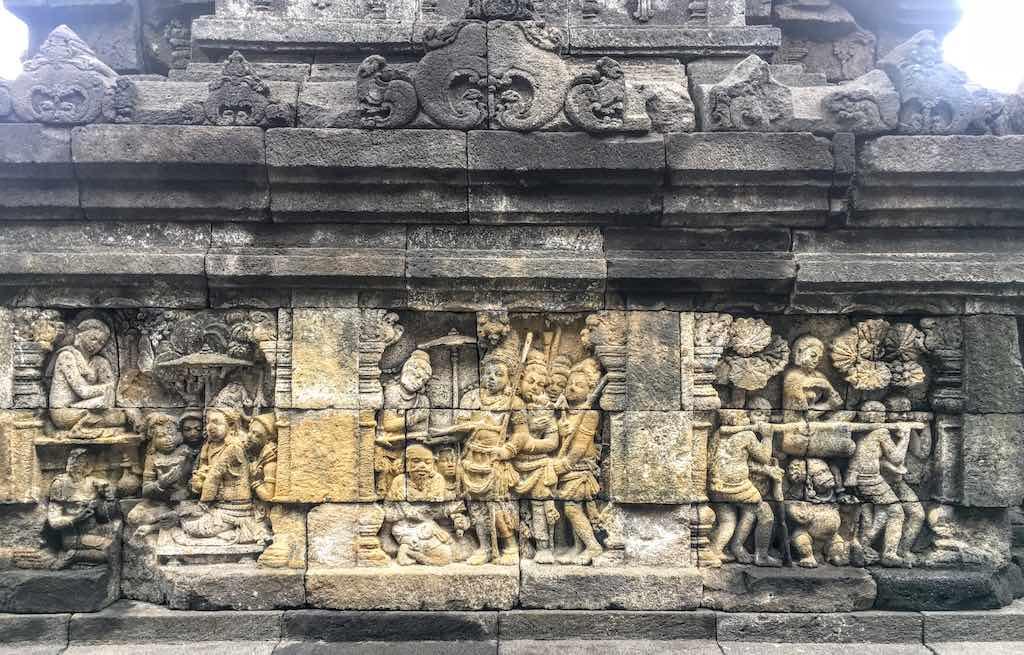 Borobudur and Prambanan temples Borobudur reliefs