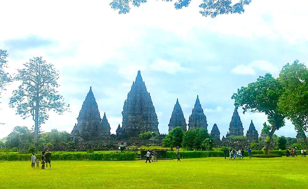 Borobudur and Prambanan temples Temples of Prambanan