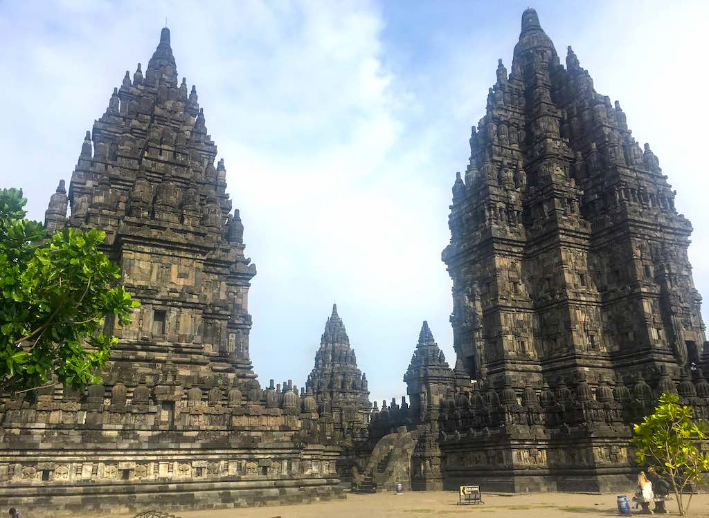 Borobudur and Prambanan temples in Indonesia Prambanan complex