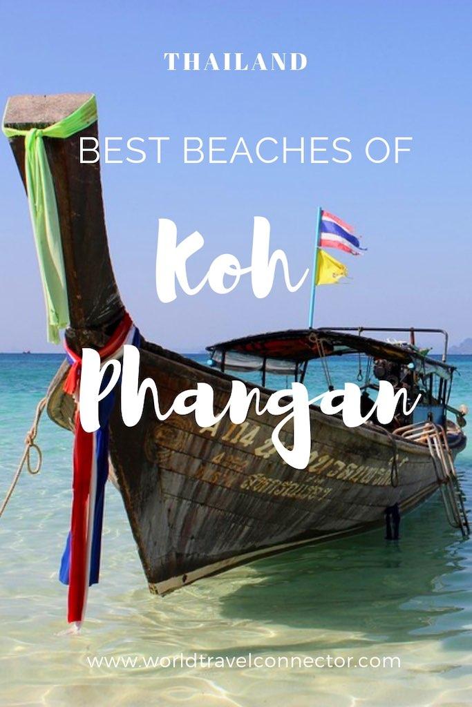 Best beaches of Koh Phangan in Thailand