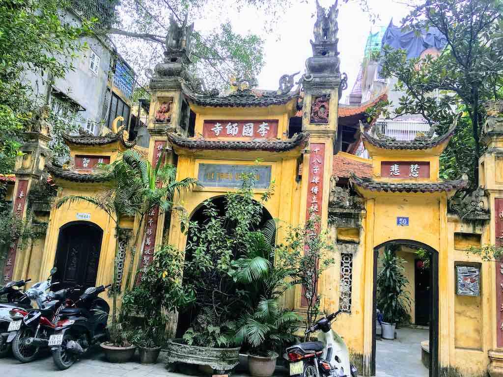Ly Trieu Quoc Su Pagoda in Hanoi