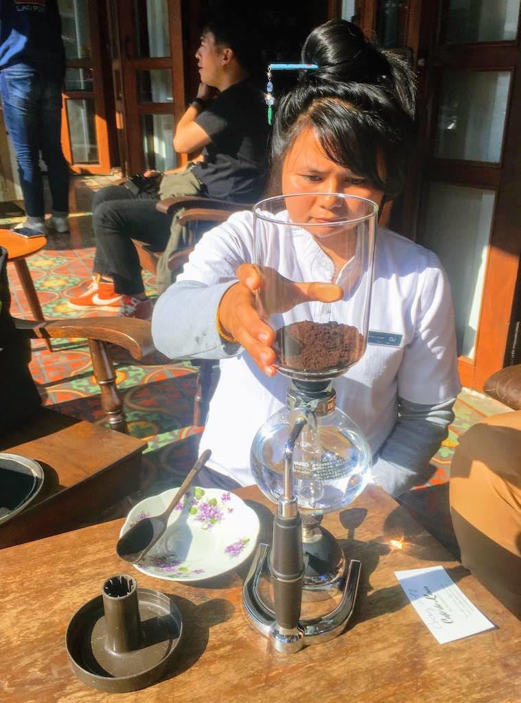 Siphon Coffee taste