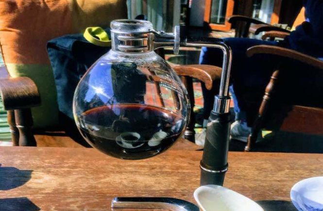 Siphon Coffee taste 1