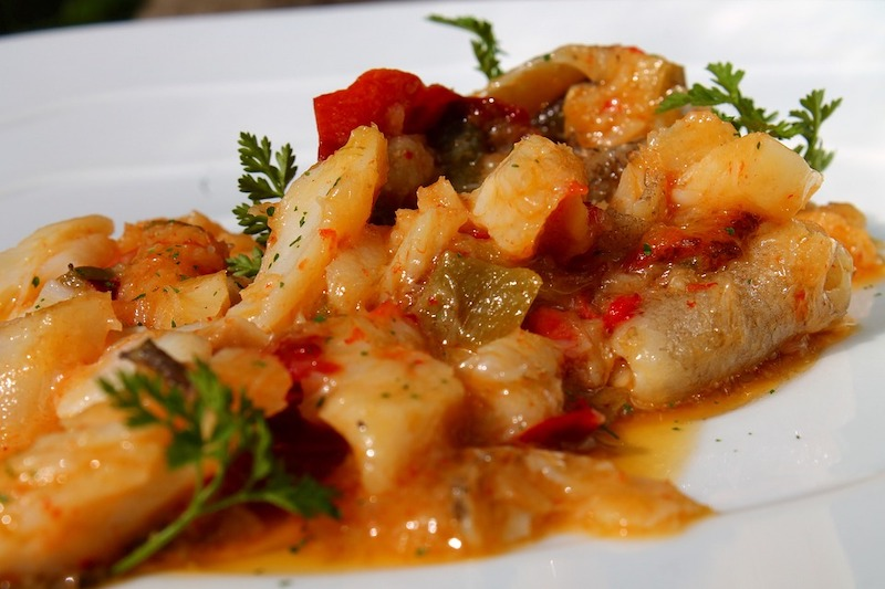 Ajoarriero is a famous Spanish fish dish