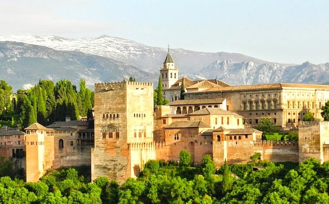 Alhambra in Granada is one of the best places to visit in Southern Spain