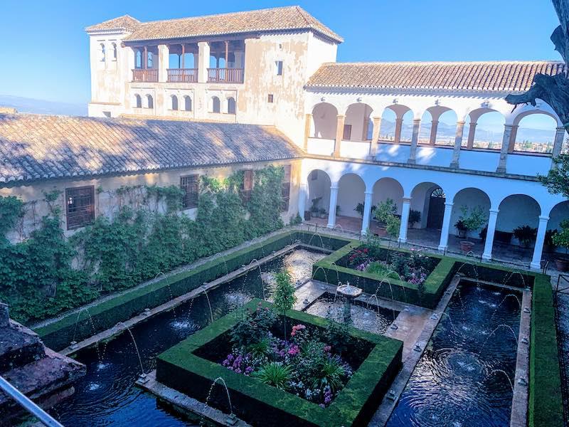 Alhambra tips Generalife gardens
