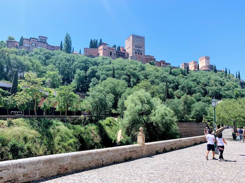 one of the Alhambra tips is for the best views of Alhambra to go to Carrera del Darro in Granada