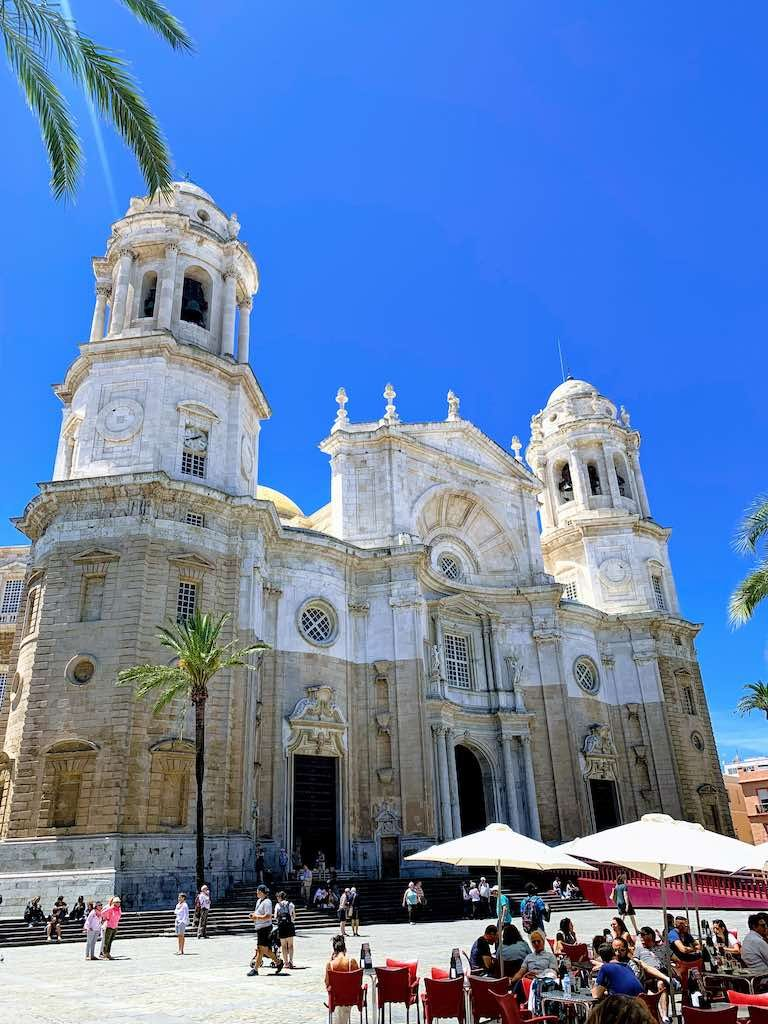 Cádiz Cathedral is one of the best places to visit in Southern Spain