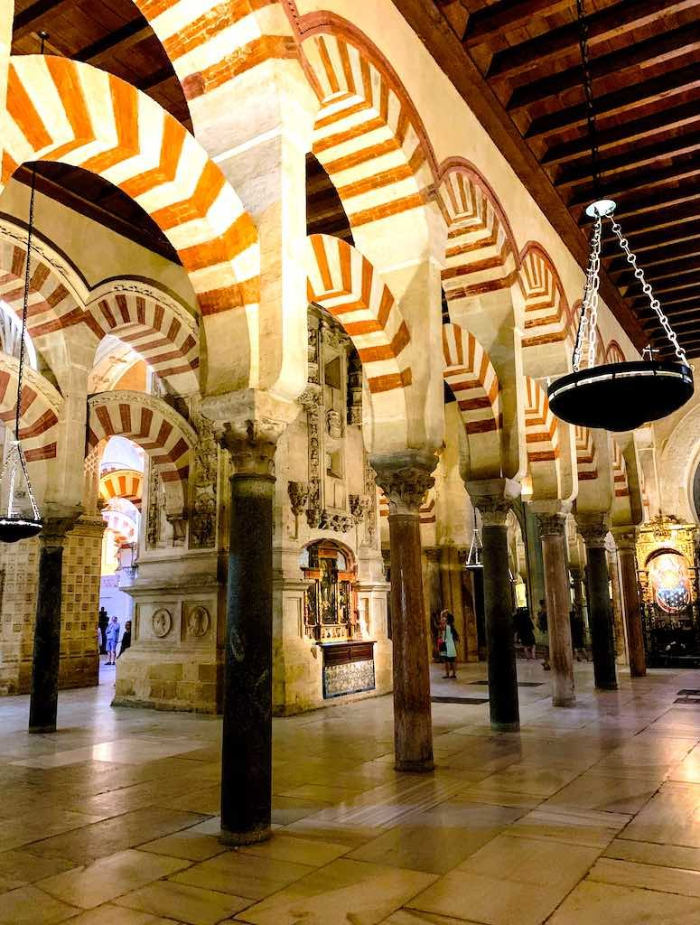 Mezquita Cathedral de Cordoba is one of the best places to visit in Southern Spain