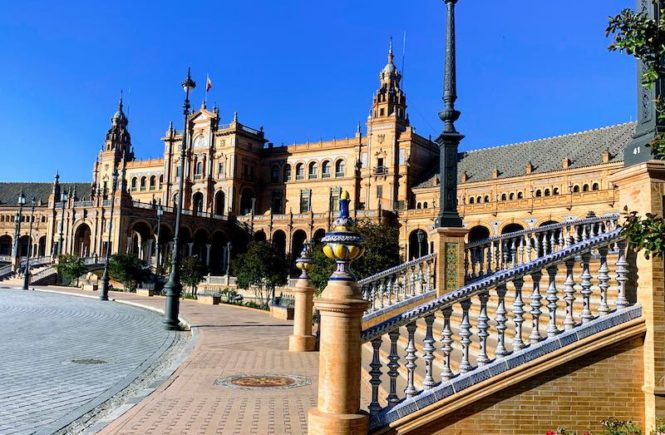 Plaza Espana in Seville is one of the best places to visit in Southern Spain
