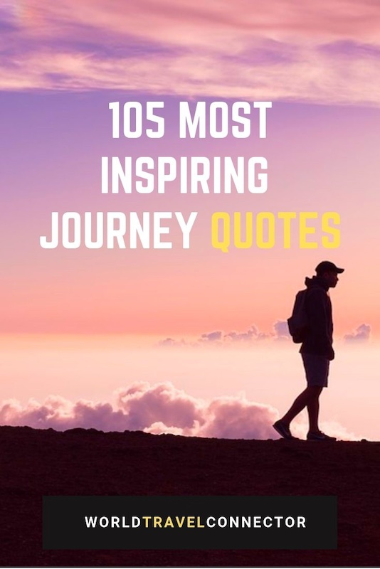 Most inspiring quotes about journey