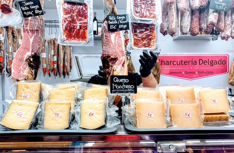 Manchego cheese is a popular food in Spain