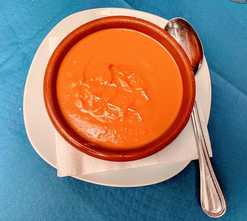 Salmorejo is one of the most popular food in Spain I Famous Spanish Food I Most Popular Foods in Spain I Best Spanish Dishes I Traditional Spanish Food I Traditional Spanish Dishes I Popular Spanish Drinks I What to Eat in Spain I Authentic Food in Spain  I Popular Spanish Food #SpanishFood #SpanishDishes #SpanishDrinks #Travel