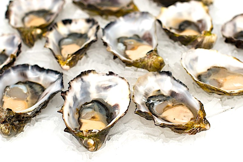 Oysters are well liked seafood in Spain