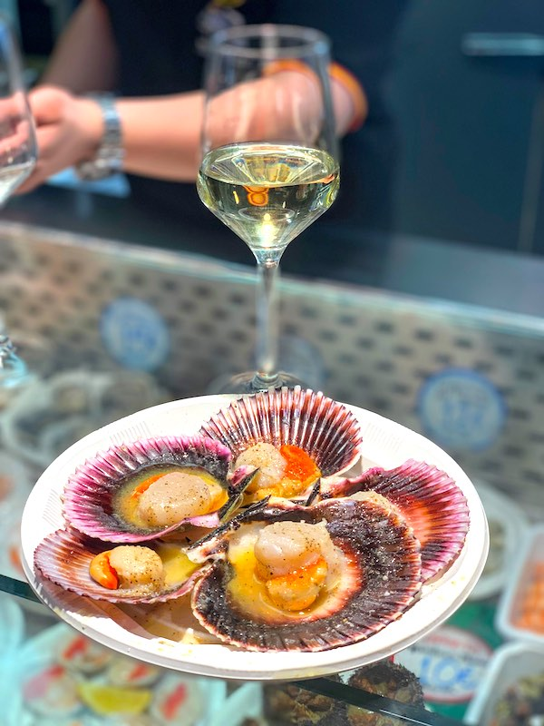 Scallops are widely eaten seafood in Spain