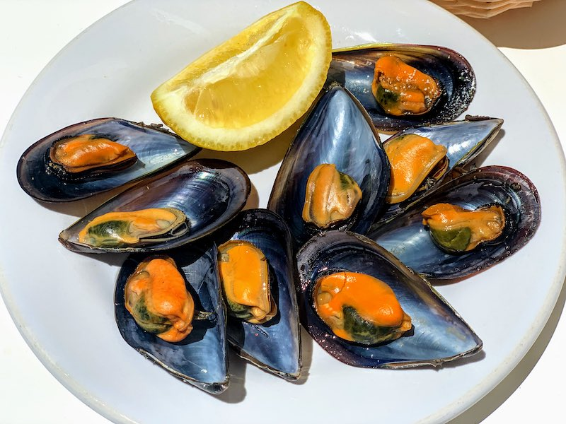Mussels are high in demand seafood in Spain