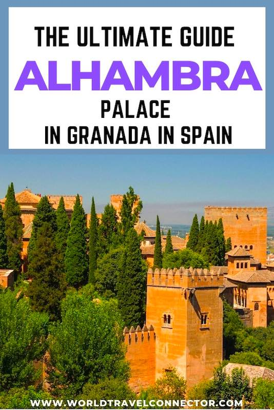 Tips for visiting Alhambra Palace in Granada in Spain