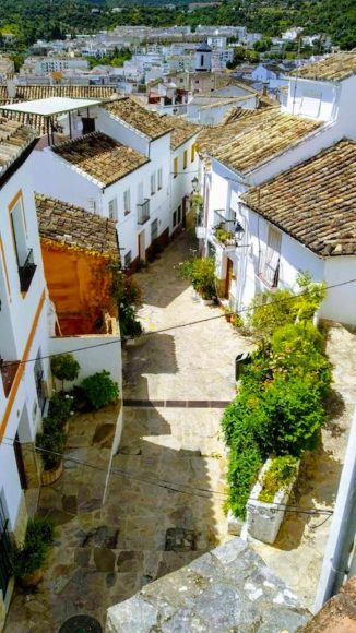 Ubrique is a top whitewashed town to see in Andalusia