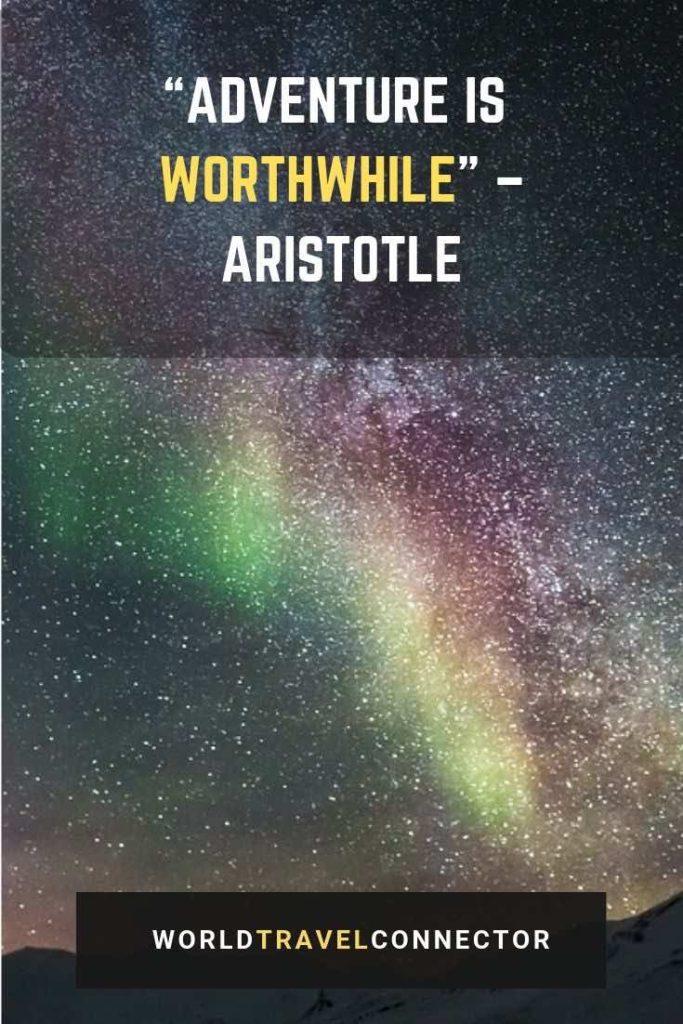 best adventure quotes Aristotele